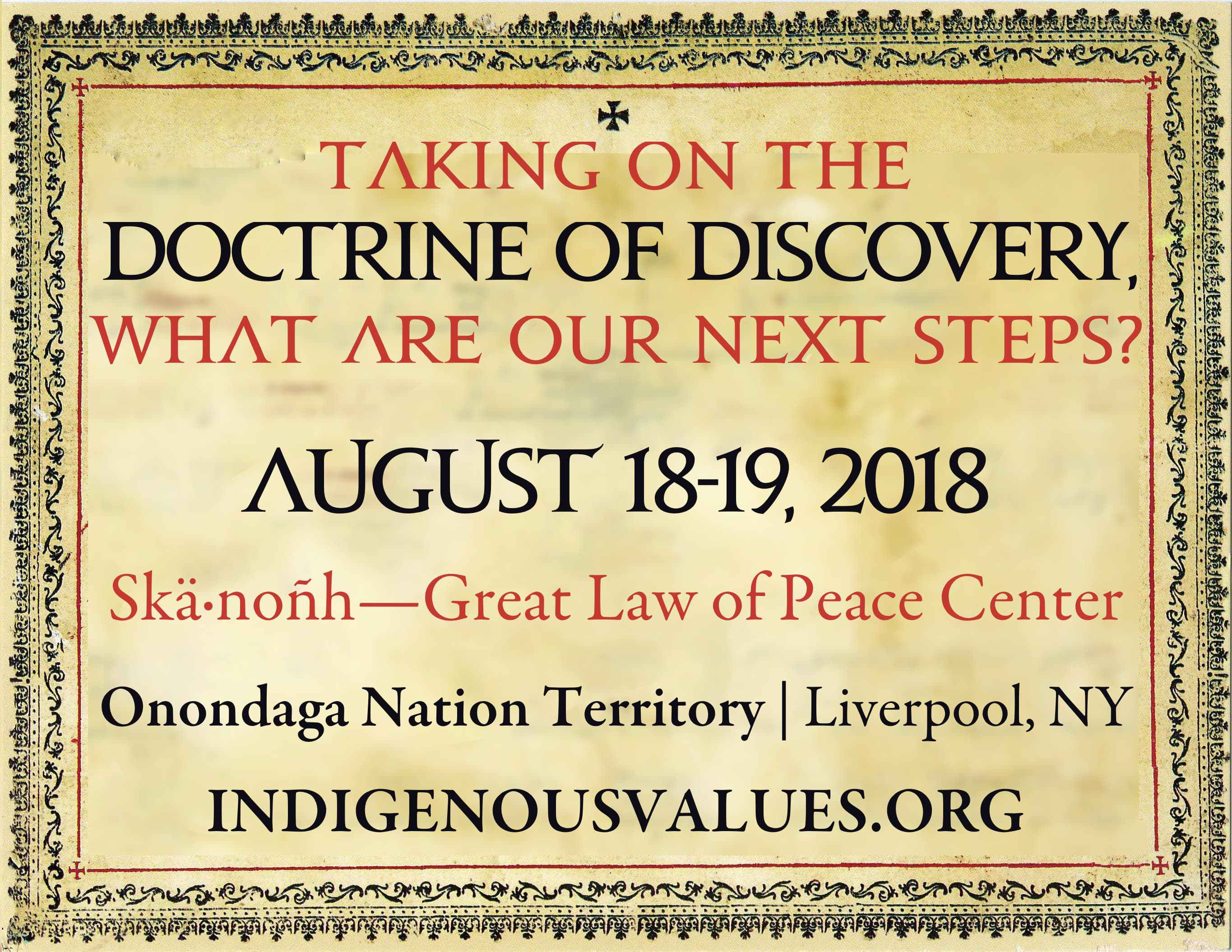 Taking on the Doctrine of Discovery, What are our Next Steps?
