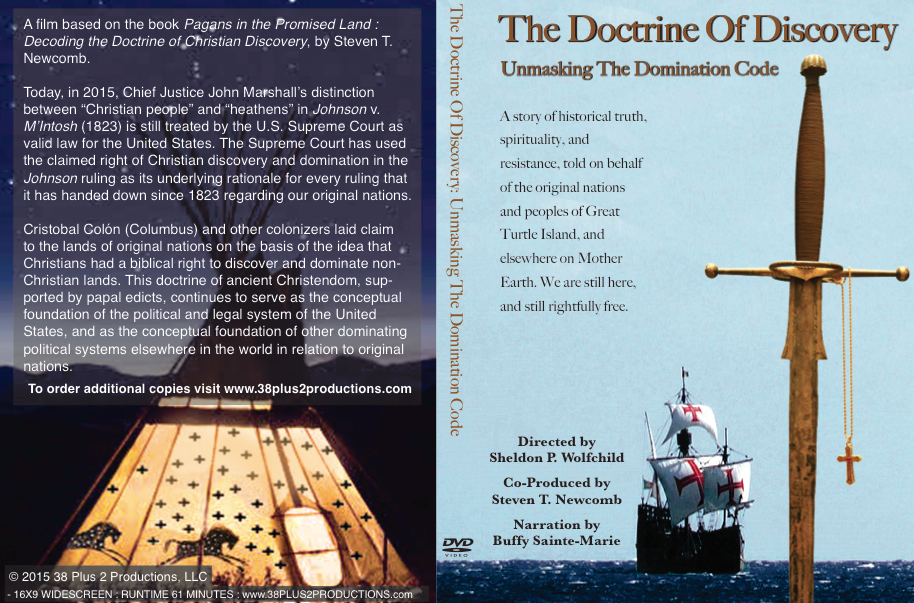 The Doctrine of Discovery, Unmasking The Domination Code